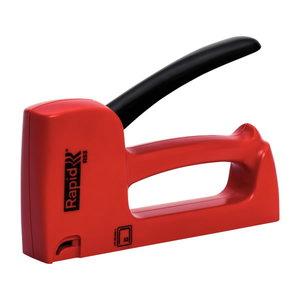 Skavotājs RAPID R53 4-10 mm, sarkans, Nr.53 skavas HANDY, Rapid