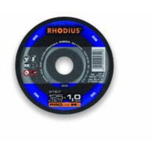 Griezējdisks metālam 125x1,0 XT67 PRO, RHODIUS Schleifwerkzeuge
