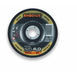 Griezējdisks INOX 125x4,0 RS38, RHODIUS Schleifwerkzeuge