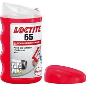 Sriegių sandarinimo siūlas   55 160m, Loctite