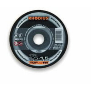 Lõikeketas 125x1.5x22,23 XT24 Alu TOP line, Rhodius