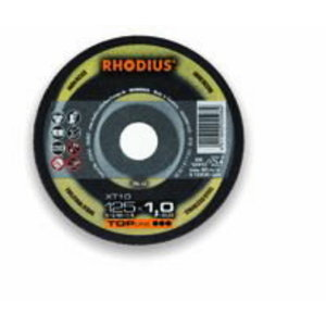 Pjov.disk.nerūd.plienui XT10 125x1,0, Rhodius