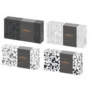 Vienkartinės nosinaitės dėžutėje Wepa Prestige, 1 vnt., Satino