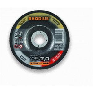 Metallilihvketas 125x7x22,23 INOX,Alu,Steel RS3in1, Rhodius