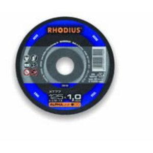 Metallilõikeketas 125x1x22,23 XT77 ALPHA line, Rhodius