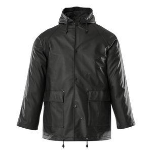 Rain jacket Aqua, black, Mascot