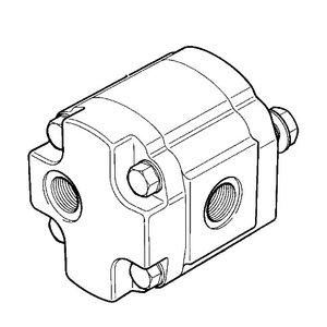 Variklis hidraulinis, ventiliatoriaus, JCB