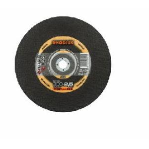 Pjovimo diskas ST38 350x2,5x25,4 nerūdijančiam plienui, Rhodius
