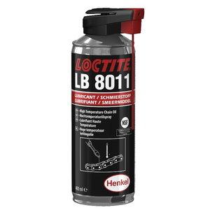 Chain Lubricant 8011 400ml spray, Loctite