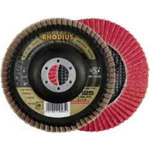 Vėduoklinis diskas LSK FK 125x22 G40 CERAMICON, Rhodius