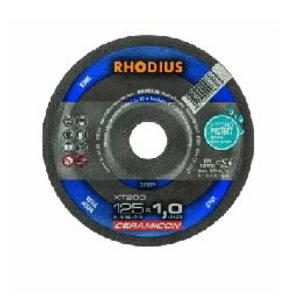 Pjovimo diskas metalui XT200 125x1,0 CERAMICON, Rhodius