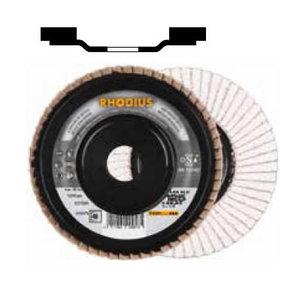 Grinding disc LAG ALU 125x22,23 G40 for aluminium, RHODIUS Schleifwerkzeuge