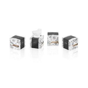 Vienkartinės nosinaitės dėžutėje  Prestige, 30 vnt., Wepa