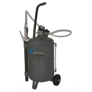 Air operated oil dispenser 24l, grey, Orion