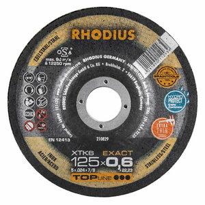 Lõikeketas 125x0.6x22,23 XTK6 EXACT, Rhodius