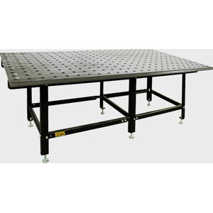 Suvirinimo stalas SST 80/25L plienas ST52 (128-163HB) Tempus