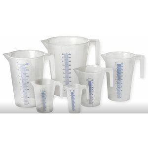Plastic measuring Jugs 7 pc, Orion