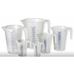 Plastic measuring Jugs 7 pc, Orion