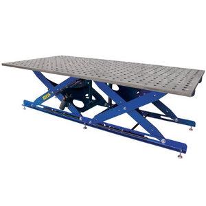 Suvirinimo stalas SST 65-105/35L, mat.ST52, adjust.height, TEMPUS Holding GmbH