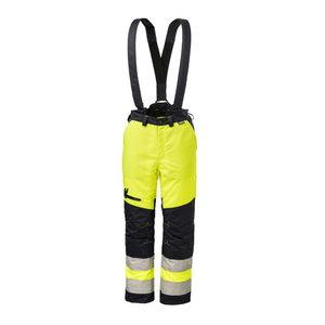 Cut protection trousers,HV-yellow/dark blue 64, , Dimex