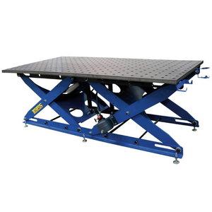 Keevituslaud SST 65-105/35M, mat.ST52, regul.kõrgus, TEMPUS Holding GmbH