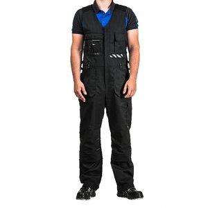 Puskombinezons Stokker Special, melns, XL izmērs XL, Dimex