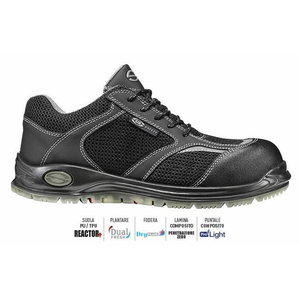 Safety shoes Jump S1P SRC  black 43, Sir Safety System