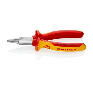 Replės apvaliom nosim, VDE, 160 mm, Knipex