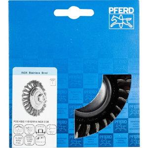 тарелочная щётка-p 115x15xM14 INOX0,35 KBG (532164), PFERD