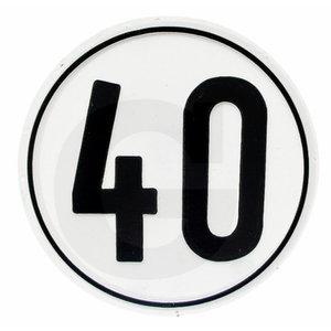 Decal 40 km/h, GRANIT