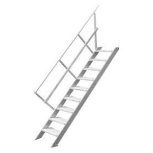 Fixed stairs w/o platform 12 steps 2211, Hymer