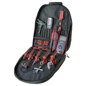 Tool backpack OPERATOR 1000 V 19 pcs, HAUPA