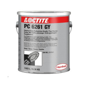 Anti-slip coating  PC 6261 yellow 6,36kg, Loctite