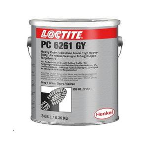 Anti-slip coating  PC 6261 yellow 6,36kg, Loctite
