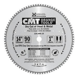 Pjovimo diskas juodam metalui 355x2,2/25,4mm Z72 8°FWF, CMT