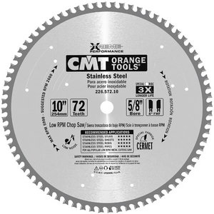 Saw Blade for INOX 355x2,2/25,4mm Z90, CMT