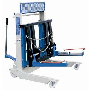 Hydraulic lift for twinned wheels, OMCN
