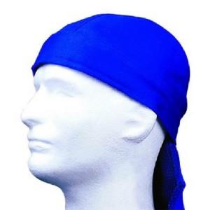 Doo-rag, flame retardant blue, Weldas
