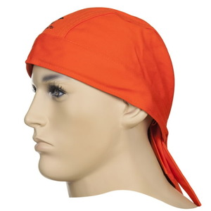 Keevitaja müts rätik, oranz, Weldas