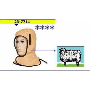 Kakla un galvas aizsargs pret aukstumu, Weldas