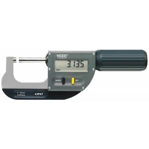 Mikrometras skaitmeninis 0-30mm DIN 863, IP67, Vögel