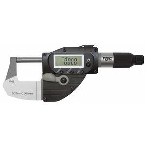 Electr.Digital Micrometer,0-25mm DIN 863, IP65, Vögel