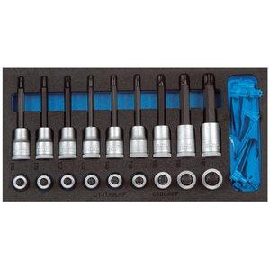 Skrūvgrieža uzgaļu adapteru komplekts 1500 CT1-ITX 19 LKP, Gedore