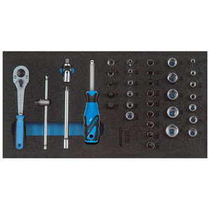 Įrankių modulis su įrankiais 1500 CT1-20, Gedore