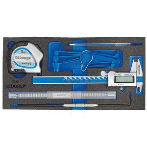 Modulis su įrankiais 1500 CT1-711, Gedore