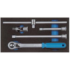 Moodul tööriistadega 1500 CT1-1993 U-20, Gedore