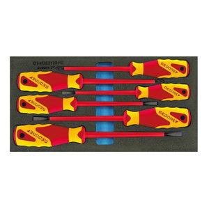 VDE skrūvgriežu komplekts modulī 1500 CT1-VDE 2170 PZ, Gedore
