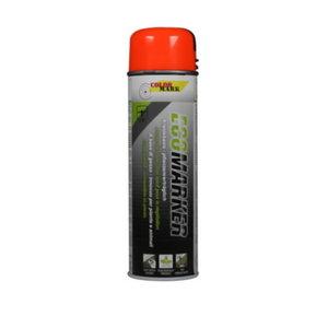 ECOMARKER orange 500ml spray paint, Motip