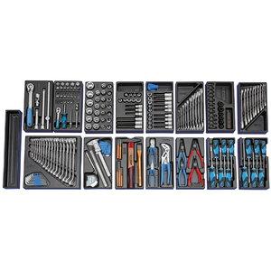 Įrankių rinkinys moduliuose 1500 ES-02 207vnt., Gedore