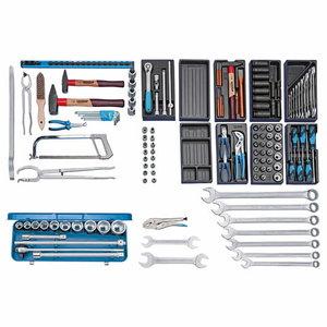 Tool assortment NFZ 158-pcs S 1022, Gedore